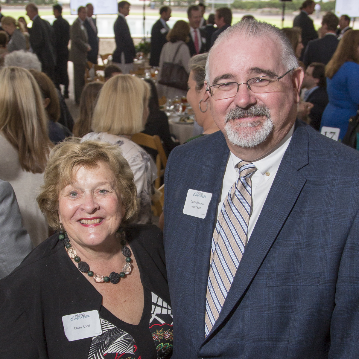 Houston Parks Board Luncheon Cathy Lord, Commissioner Jack Cagle