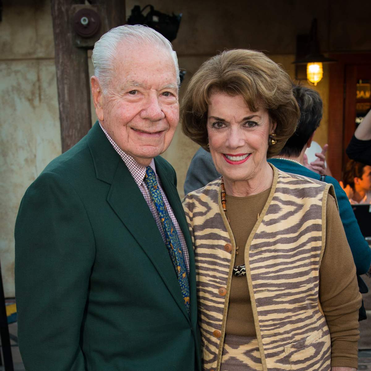 Houston Zoo Conservation Gala 2015 Wally Wilson & Jeanie Kilroy Wilson