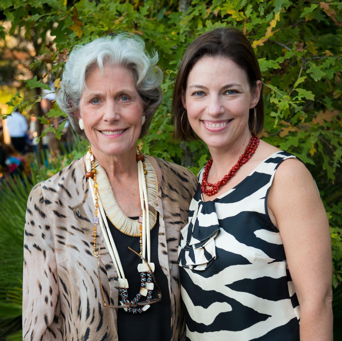 Houston Zoo Conservation Gala 2015 Beth Robertson, Dr. Cullen Geiselman