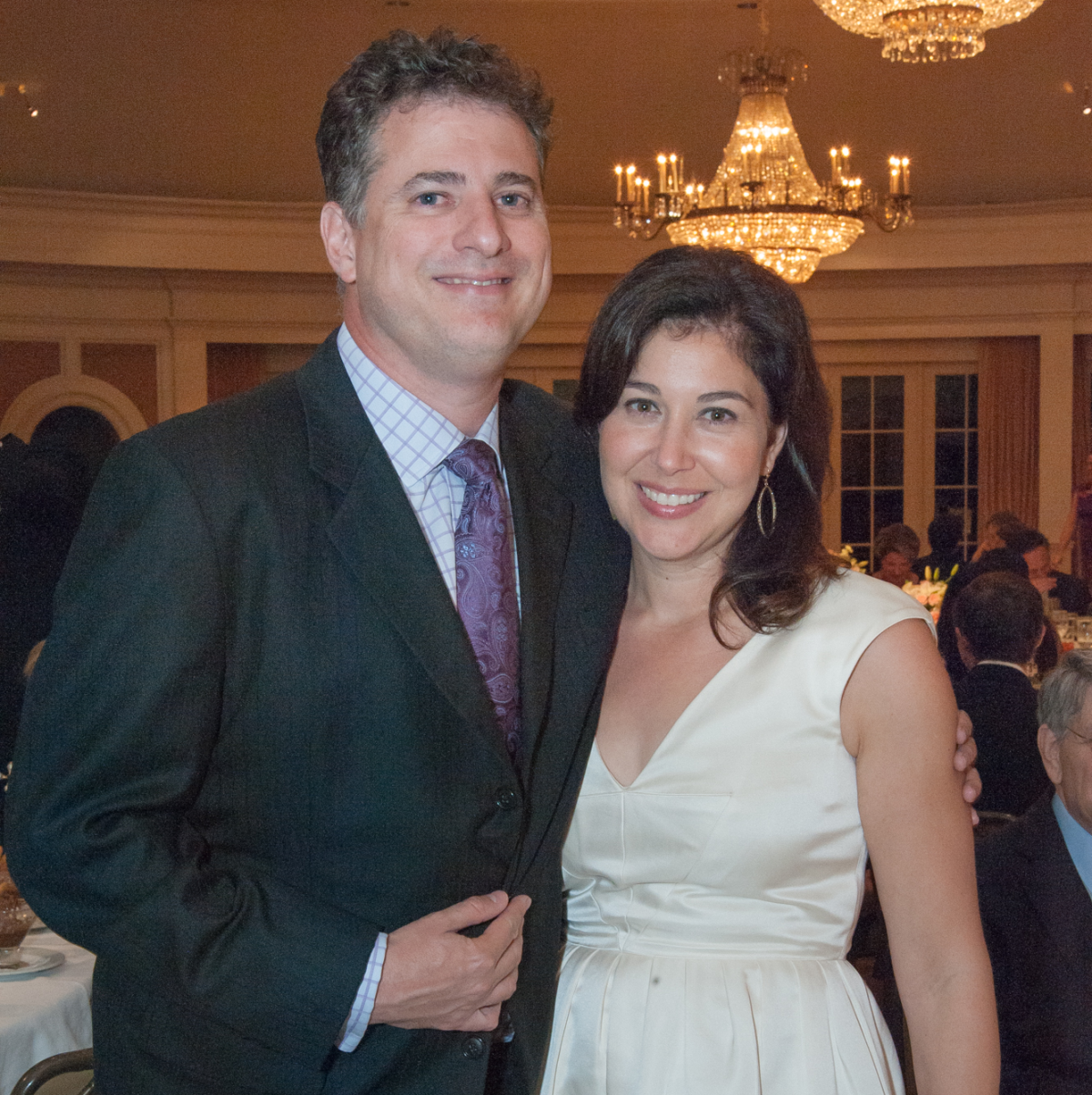 Houston, River Oaks Chamber Orchestra Gala, October 2015, Benjamin and Jennifer Fink