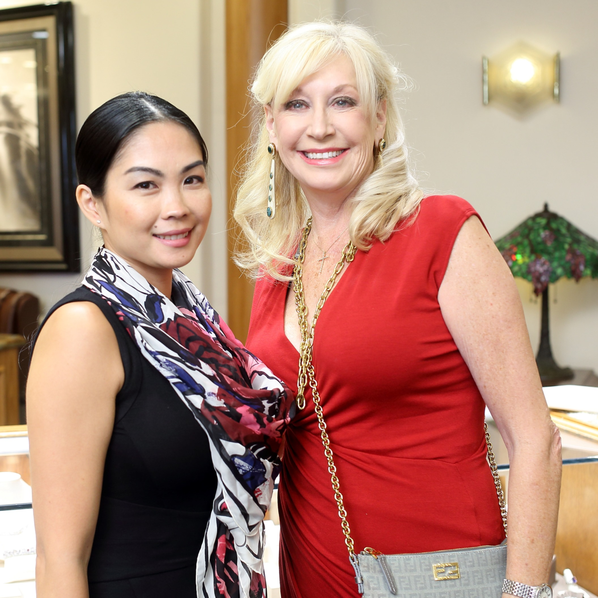Houston, Una Notte kickoff party, October 2015, Nina Khantignavong, Vivian Dugger