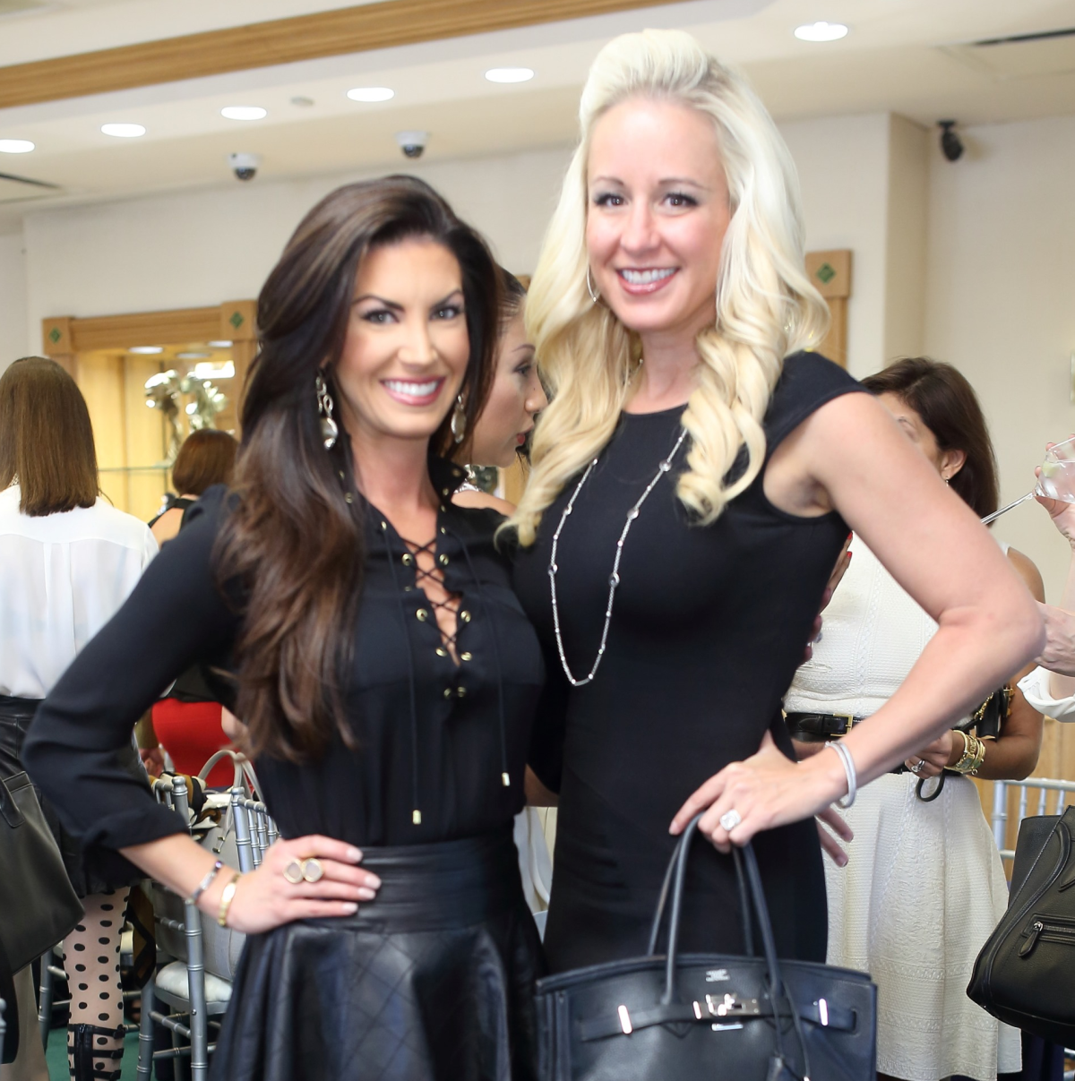 Houston, Una Notte kickoff party, October 2015, Nicole Lassiter, Jennifer Brown