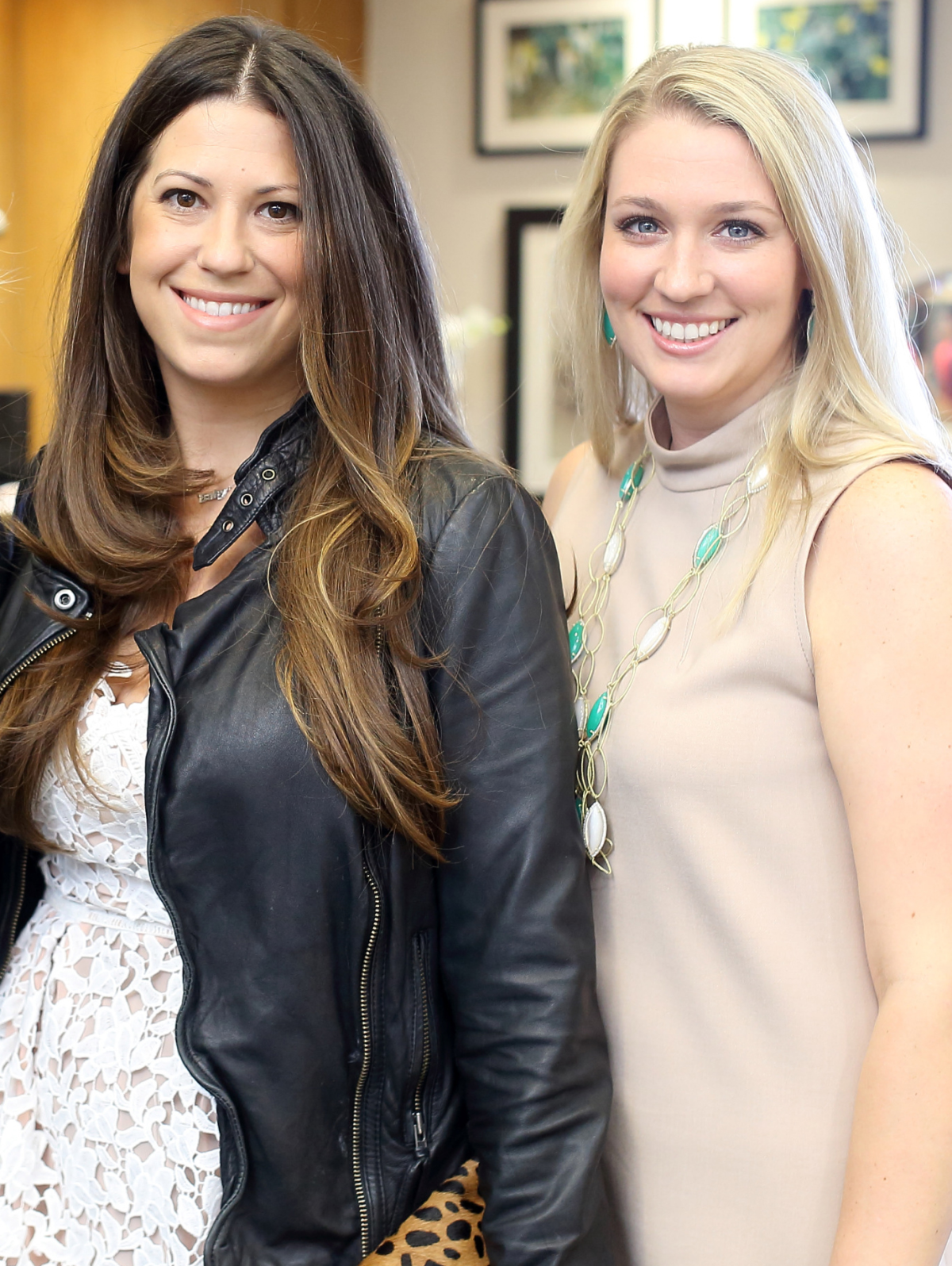 Houston, Una Notte kickoff party, October 2015, Ally Shell van Koolwijk, Christina Stith