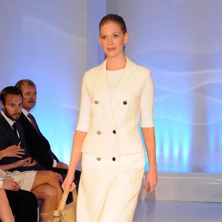 Escada runway show at Elizabeth Anthony Generations of Glamour