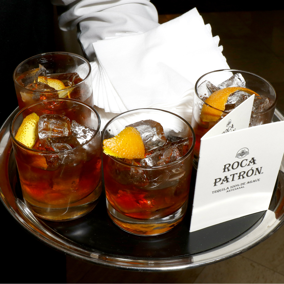 Signature Cocktail by Patrón
