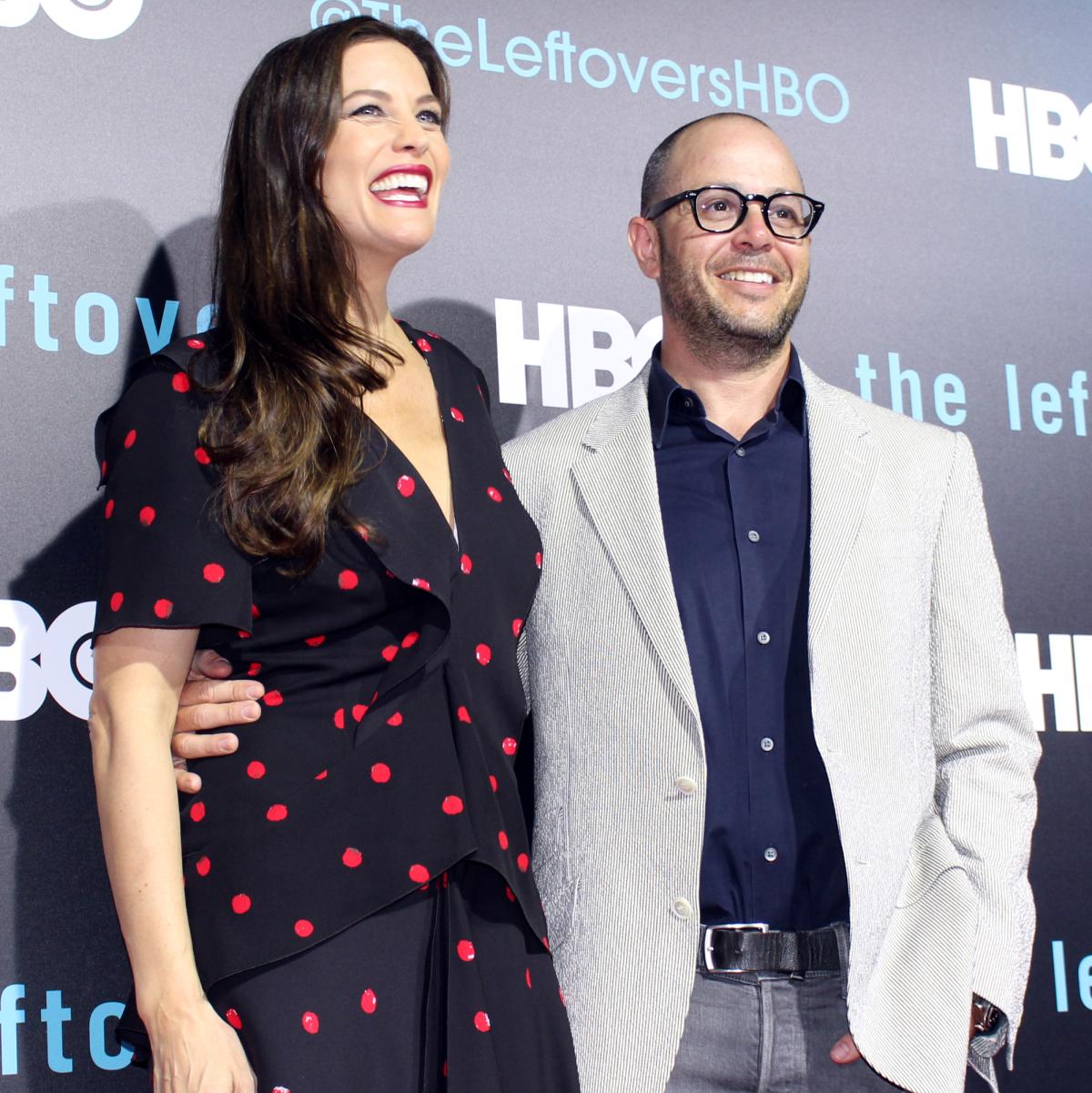 The Leftovers HBO Season 2 red carpet premiere Liv Tyler Damon Lindelof October 2015