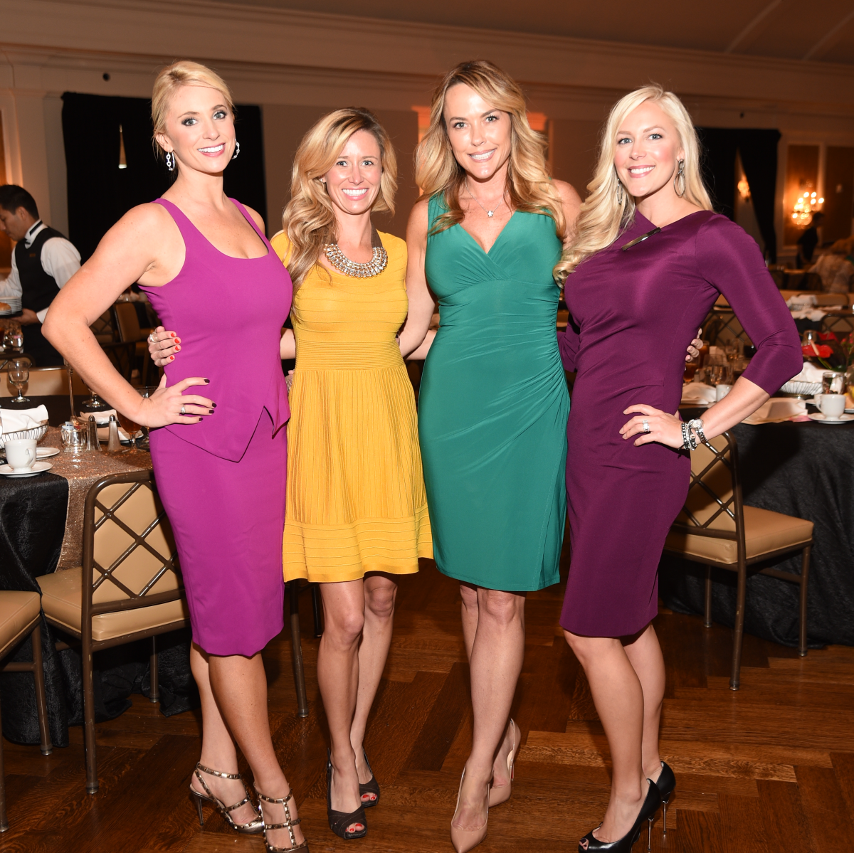 Assistance League Luncheon 2015 Chita Johson, Allison Radley, Rachelle Willis, Jenny Price.