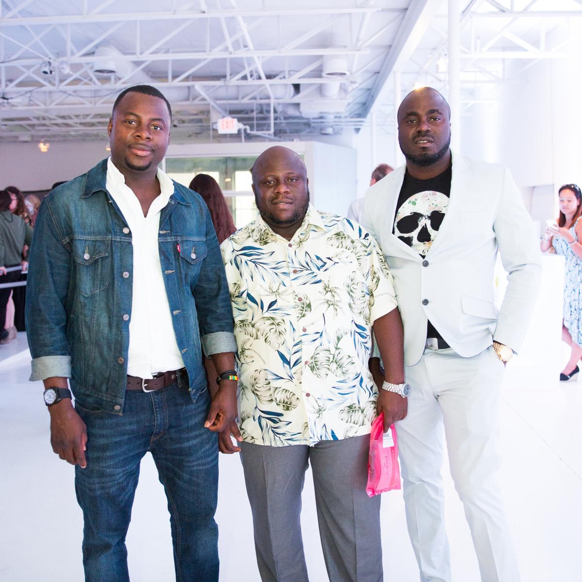 Larry Abass, Charles Cousin, Ajayi Olumuyiwa
