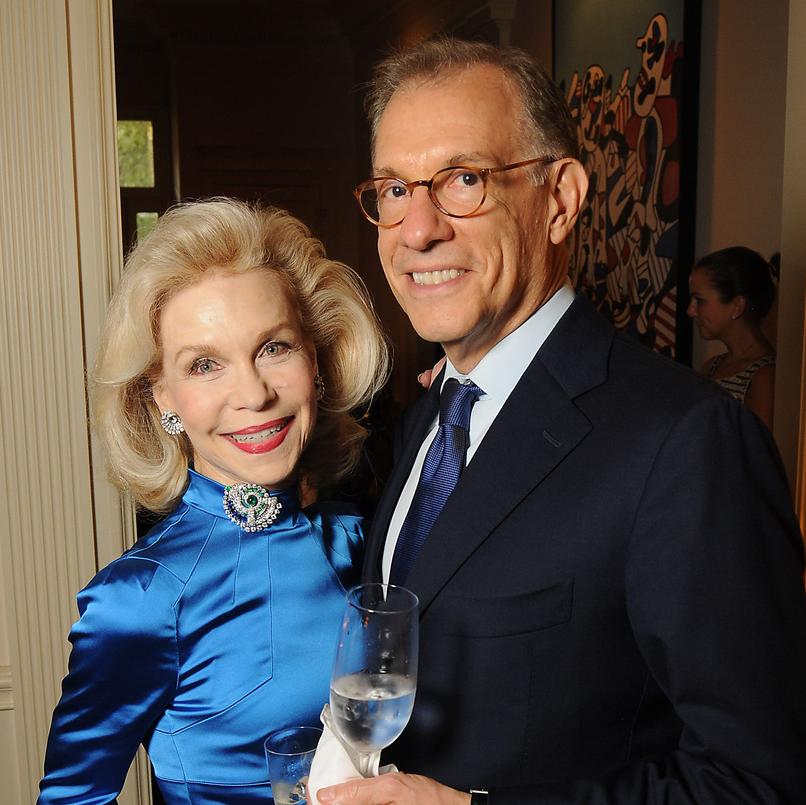 La Perla Social Lynn Wyatt and Gary Tinterow