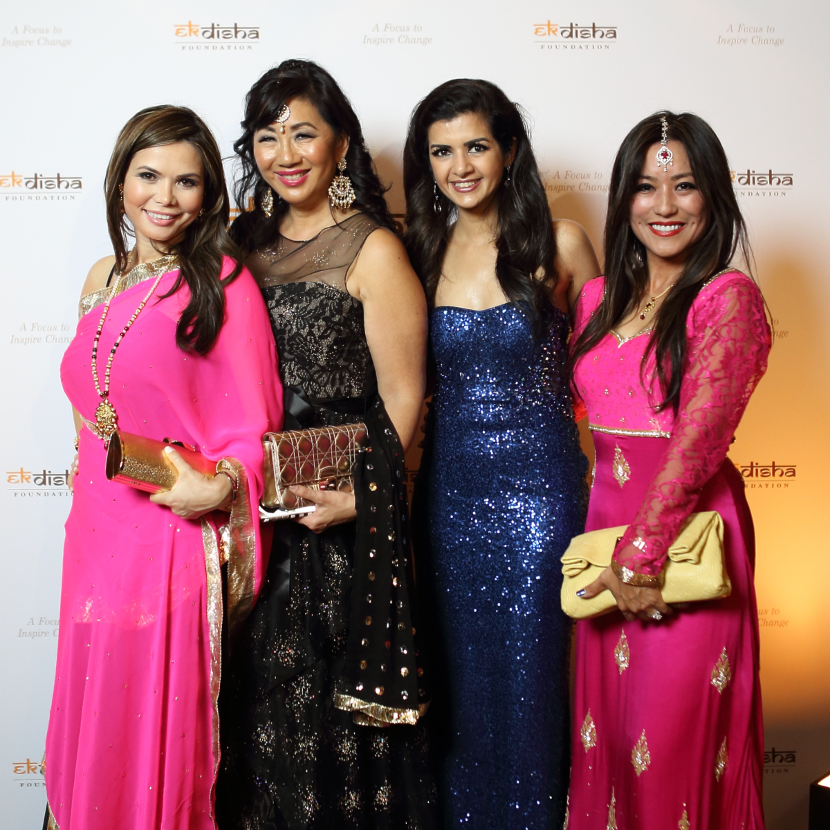 Bass Gala 2015 Amy Dichoso, Alice Mao, Brams, Naureen Malik, Gina Li