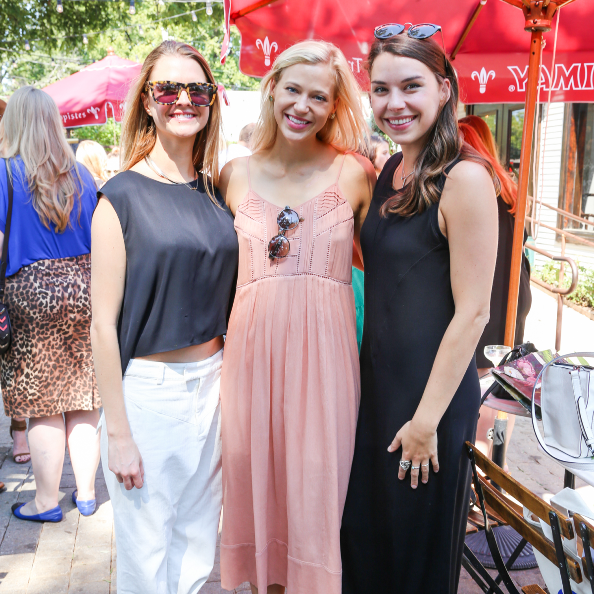 Tribeza Style Brunch 2015 at Justine's Brasserie Allyson Ellis Kim Jones Kate Zimmerman