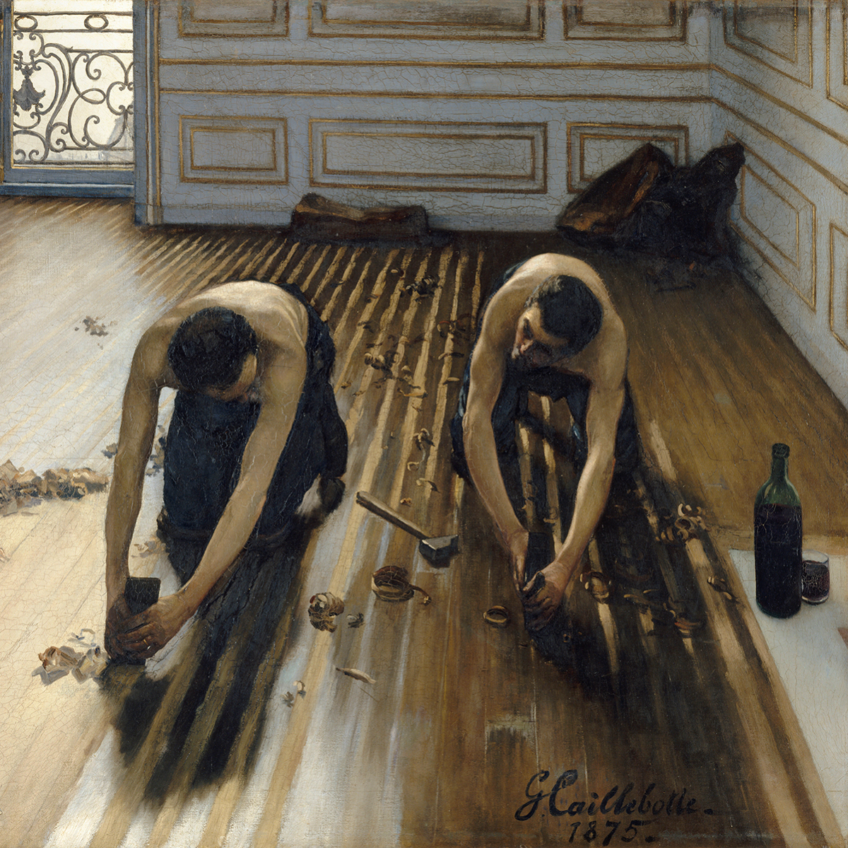 Gustave Caillebotte The Floor Scrapers