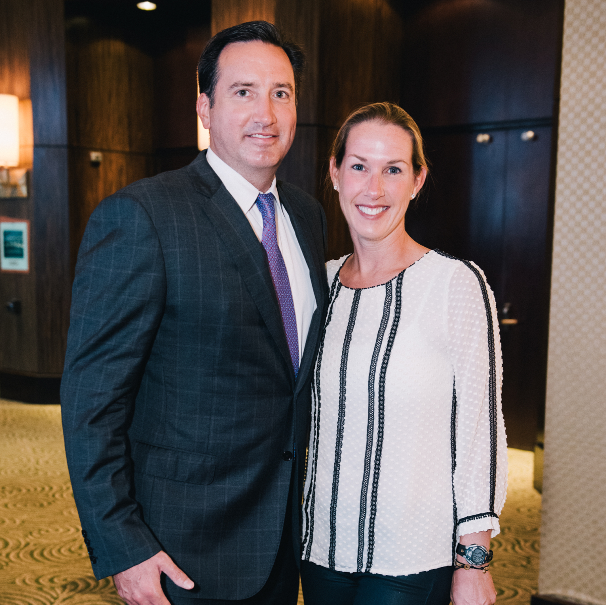 Houston, Boys & Girls Clubs' Great Futures Dinner, September 2015, Adam & Waverly Peakes