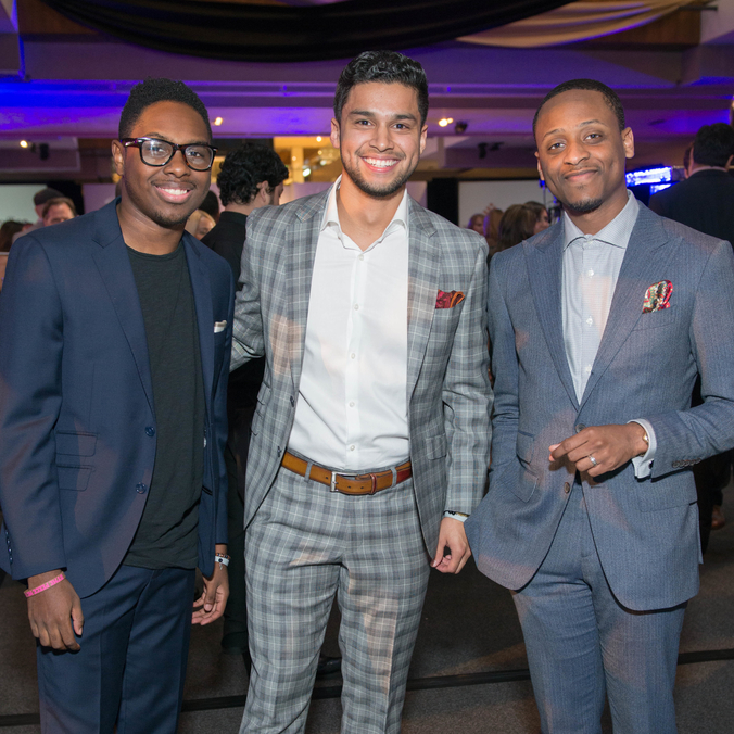 Houston, Vogue Simon Fashion Show, September 2015, Malik Goode, Junior Marquez, Staffon Adams
