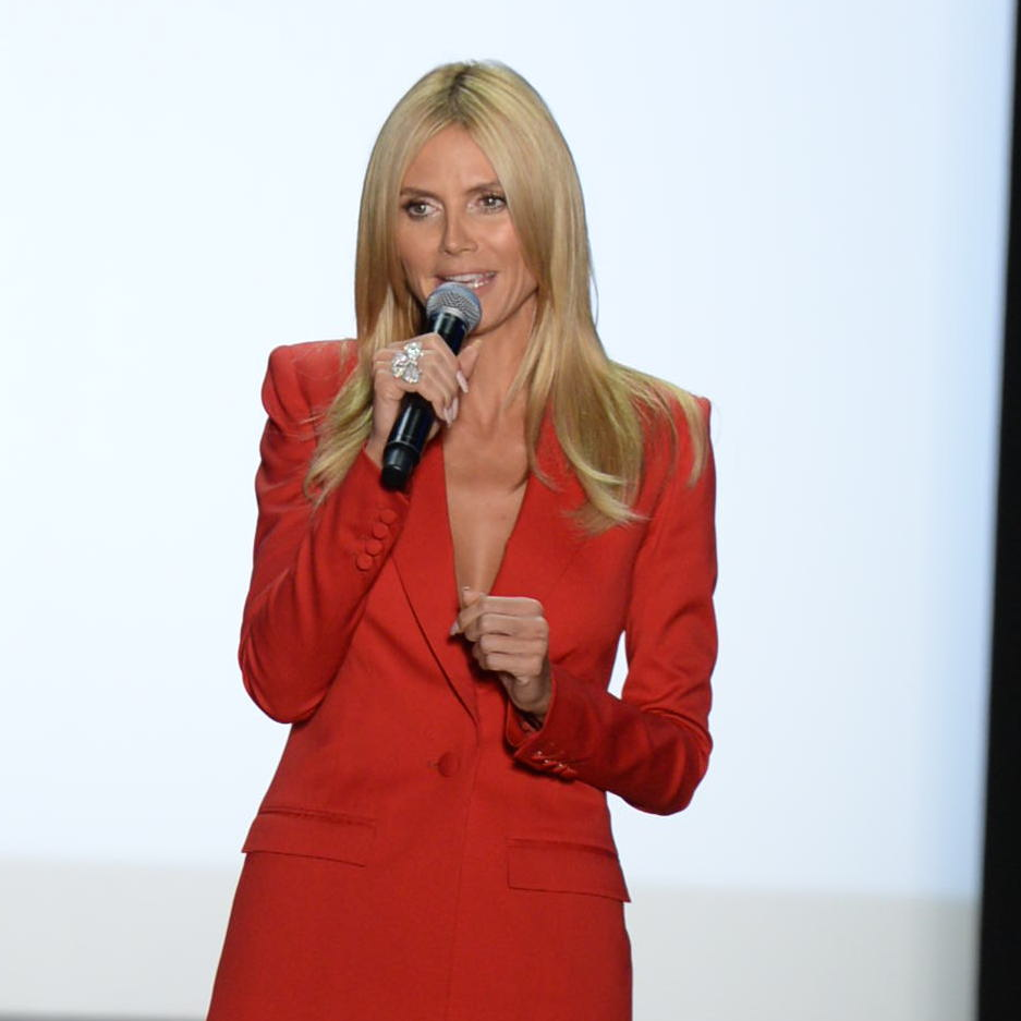 Heidi Klum at Project Runway season finale