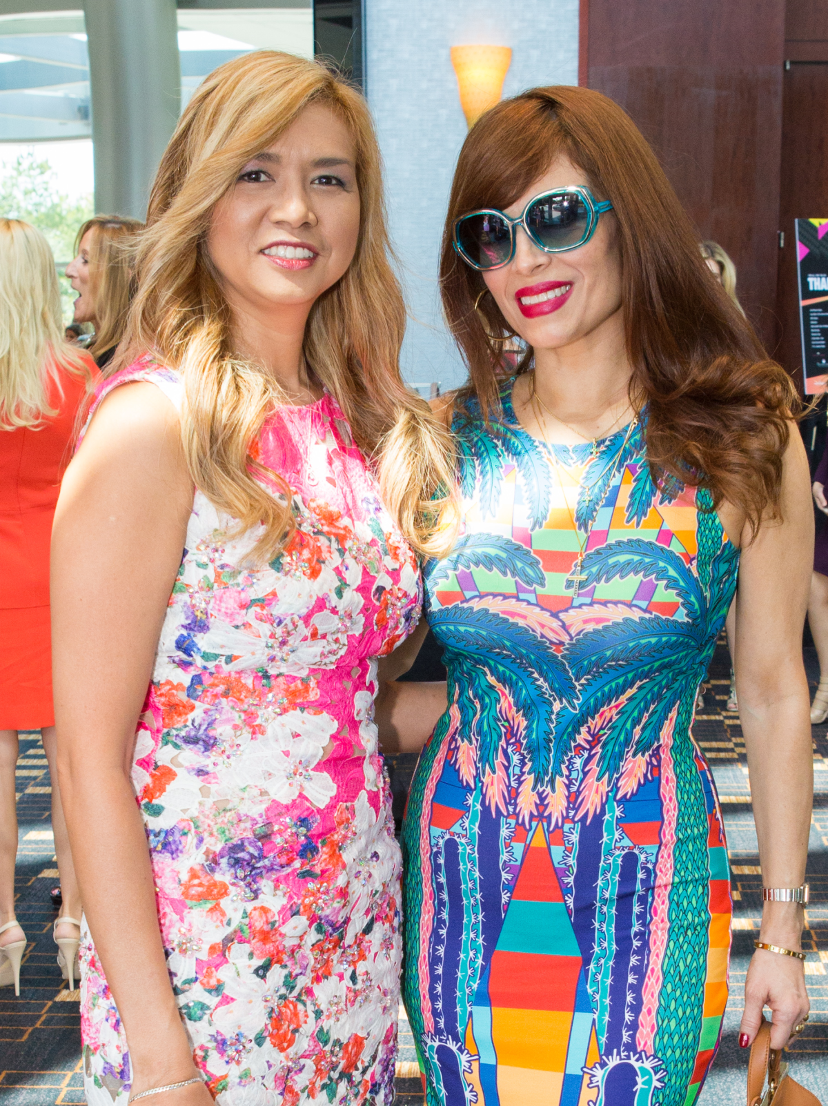 Houston, Woman's Hospital of Texas Labor Day Luncheon, August 2015, Peta-gay Ledbetter, Karina Barbieri