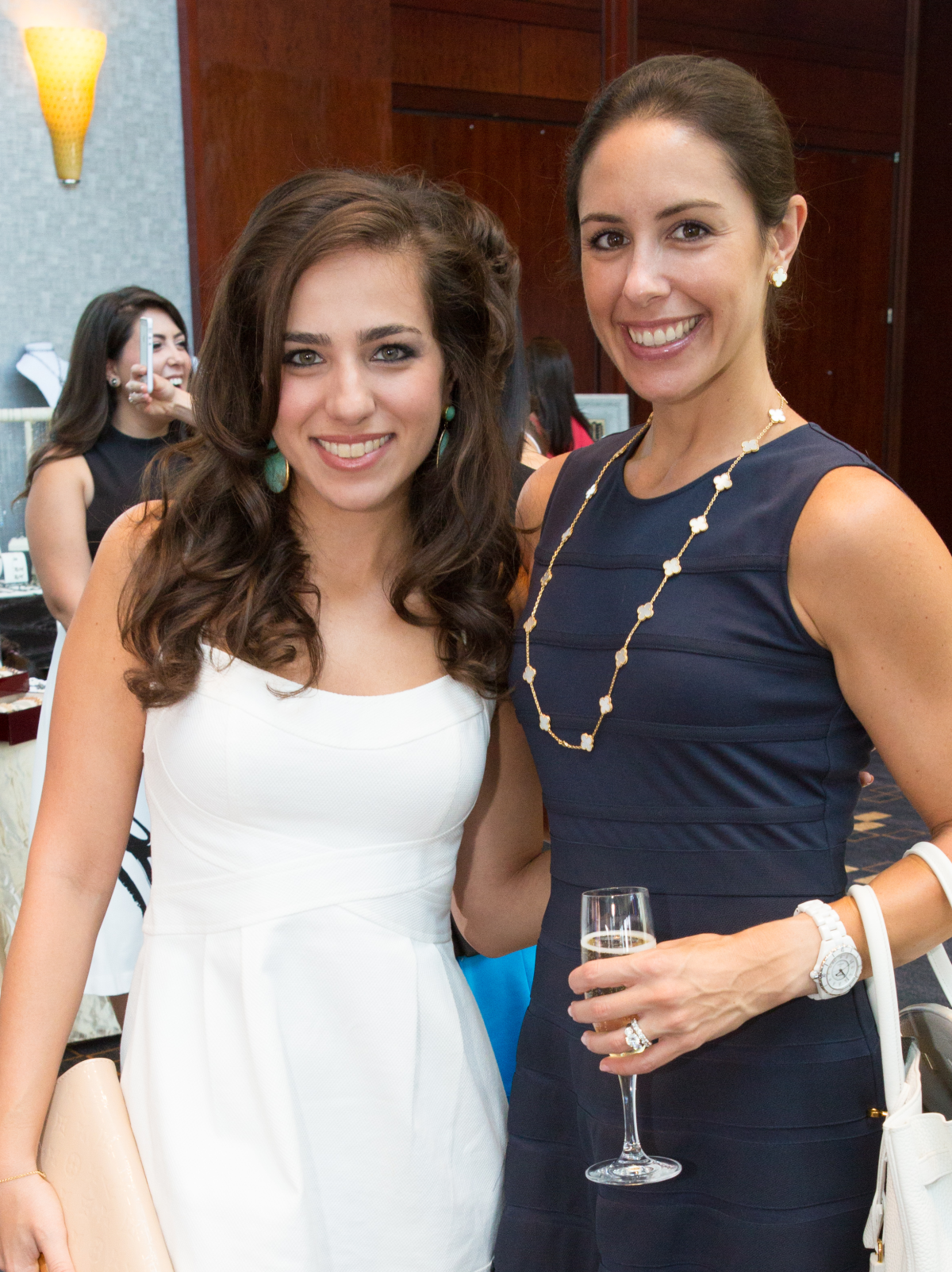 Houston, Woman's Hospital of Texas Labor Day Luncheon, August 2015, Jenan Adham, Lindsey Amiralai