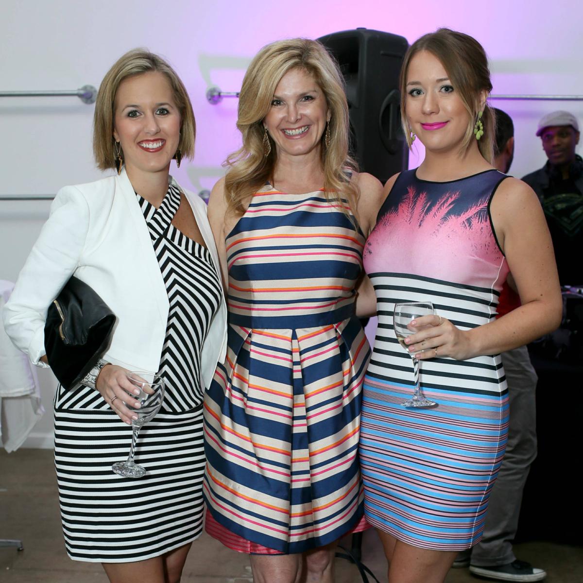 Diane Brouillard, Tanya Foster, Lexi Dennis, fdf 2 year anniversary