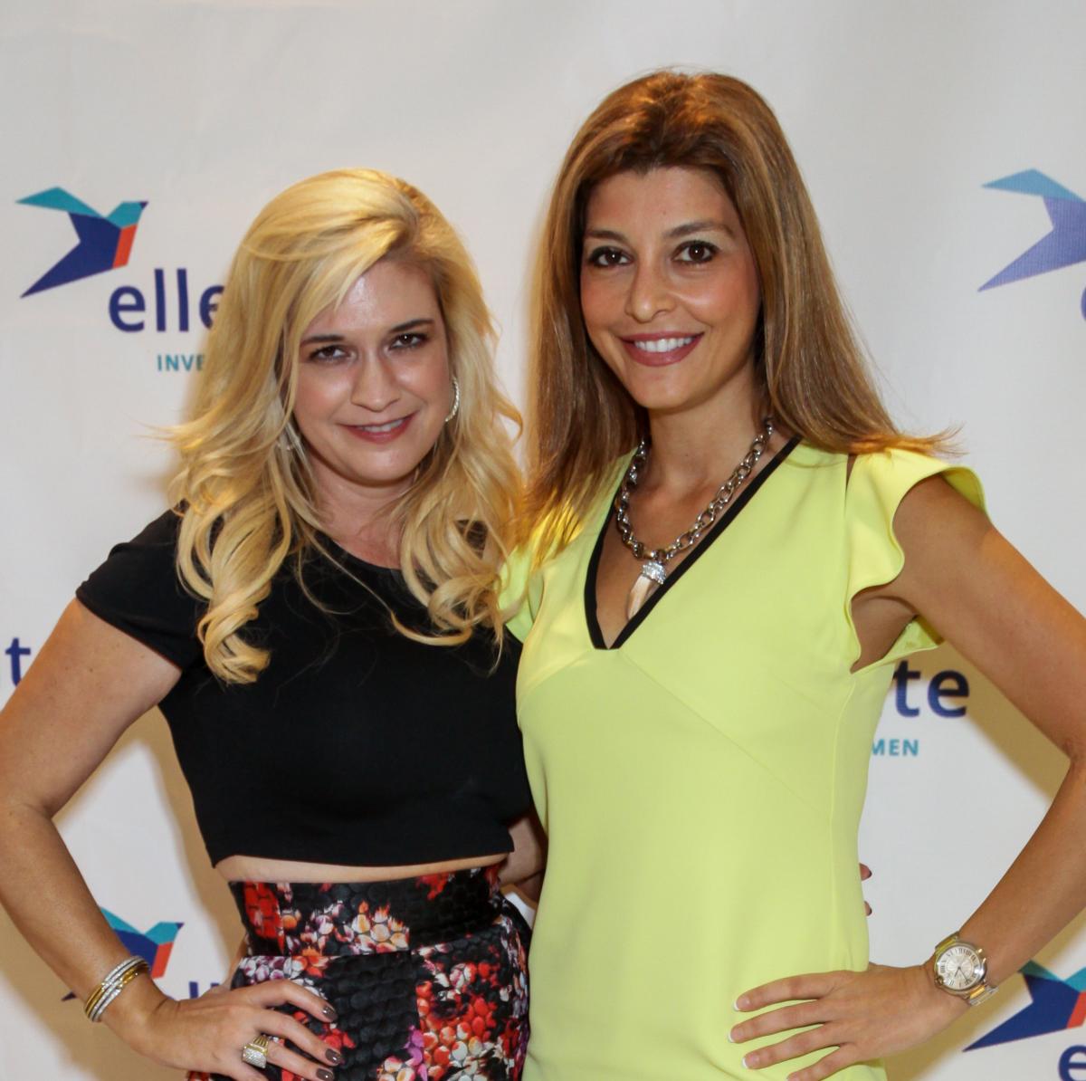Houston, Ellevate event at Tootsies, August 2015, Tammie Anne Johnson, Rasha Nasreddin