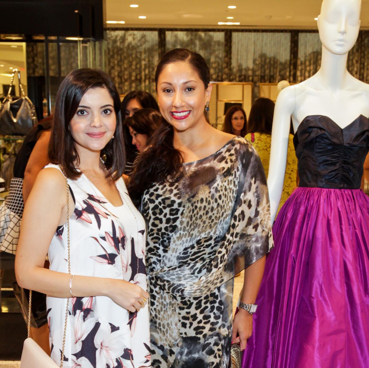 Houston, Ellevate event at Tootsies, August 2015, Layla Asgari, Nancy Almodovar