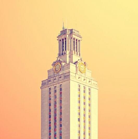Matt Crump Austin photographer Candy Minimal University of Texas tower