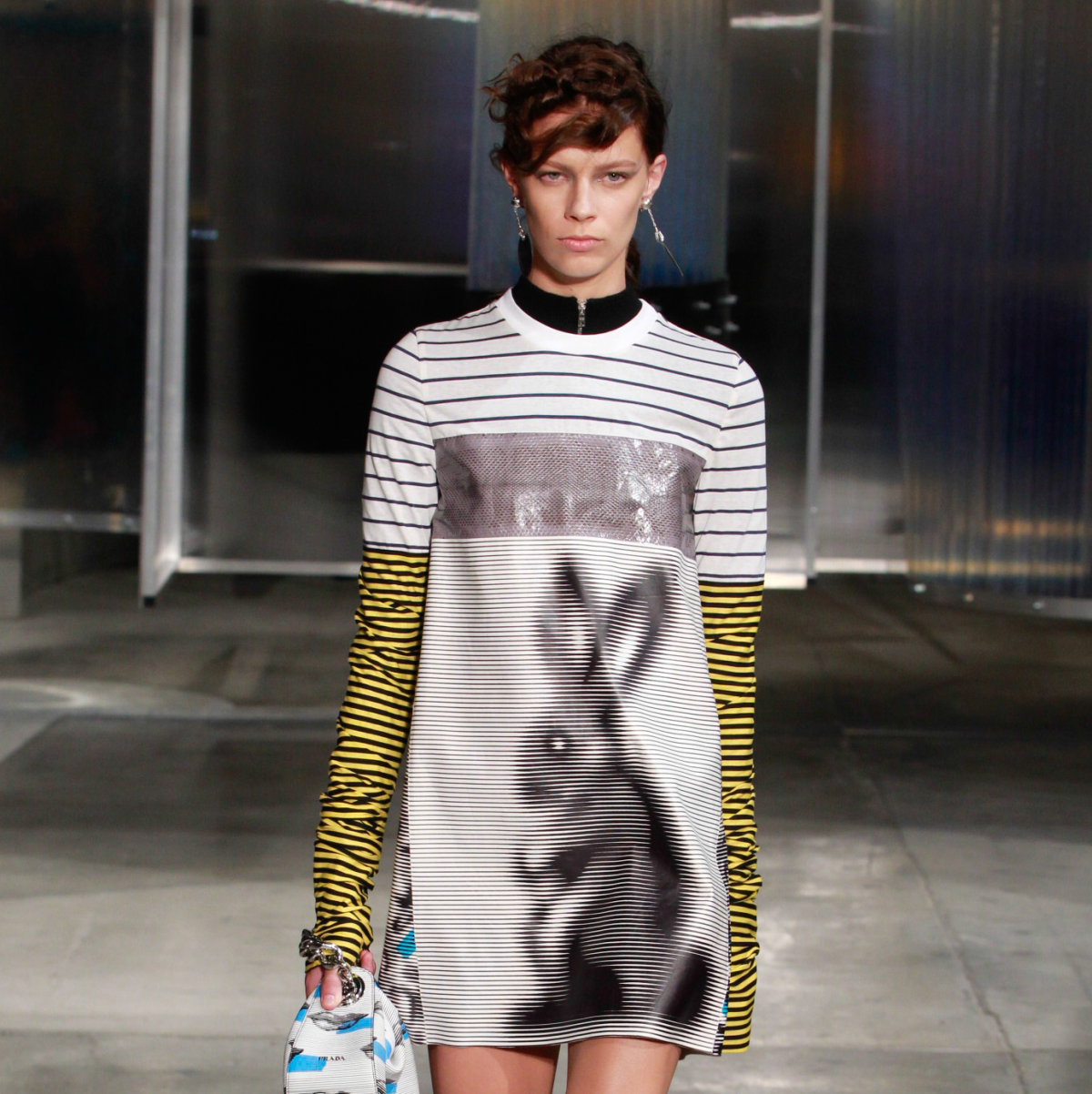 Prada men's ready to wear spring 2016 women's look