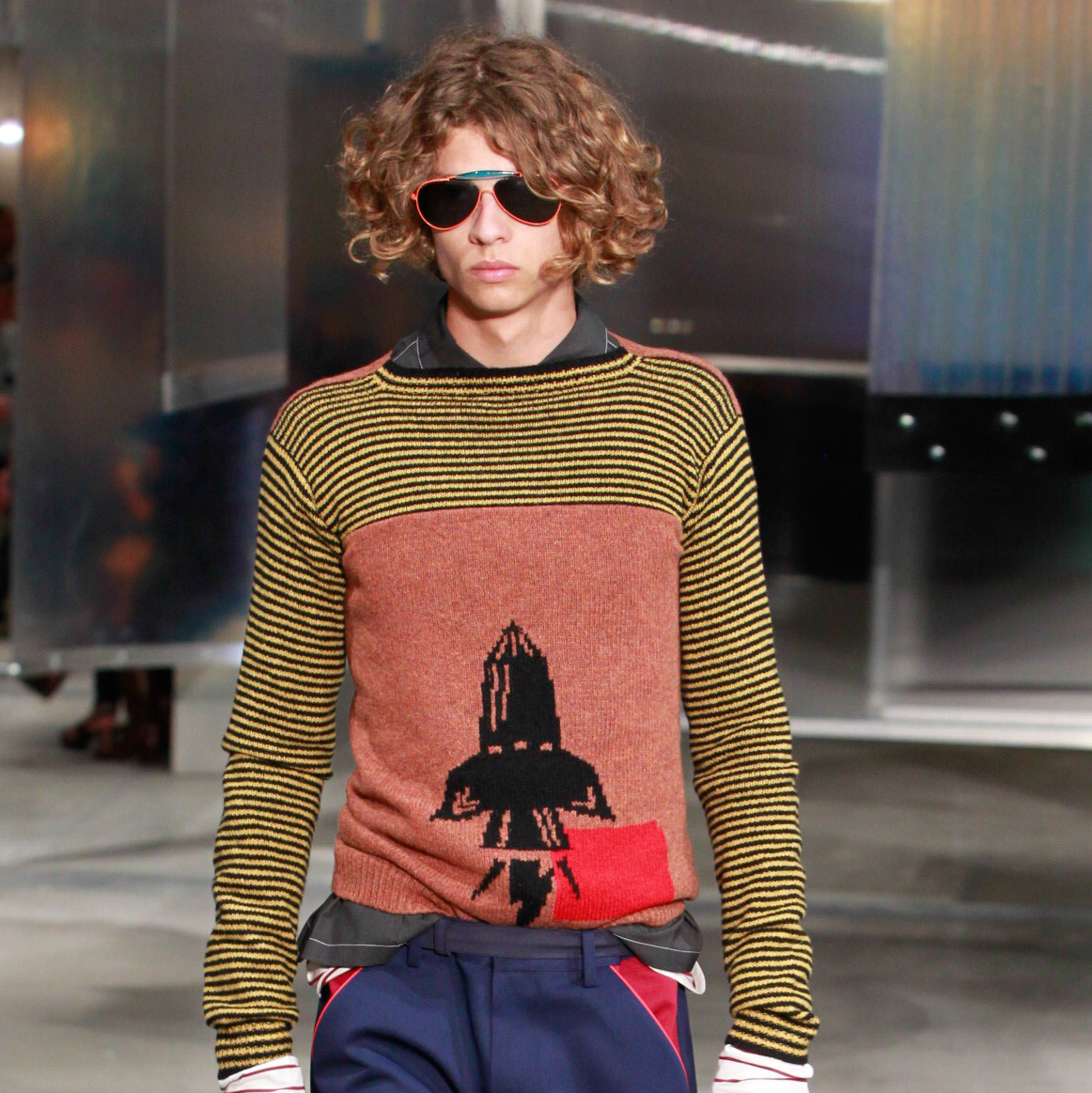 Prada men's ready to wear spring 2016
