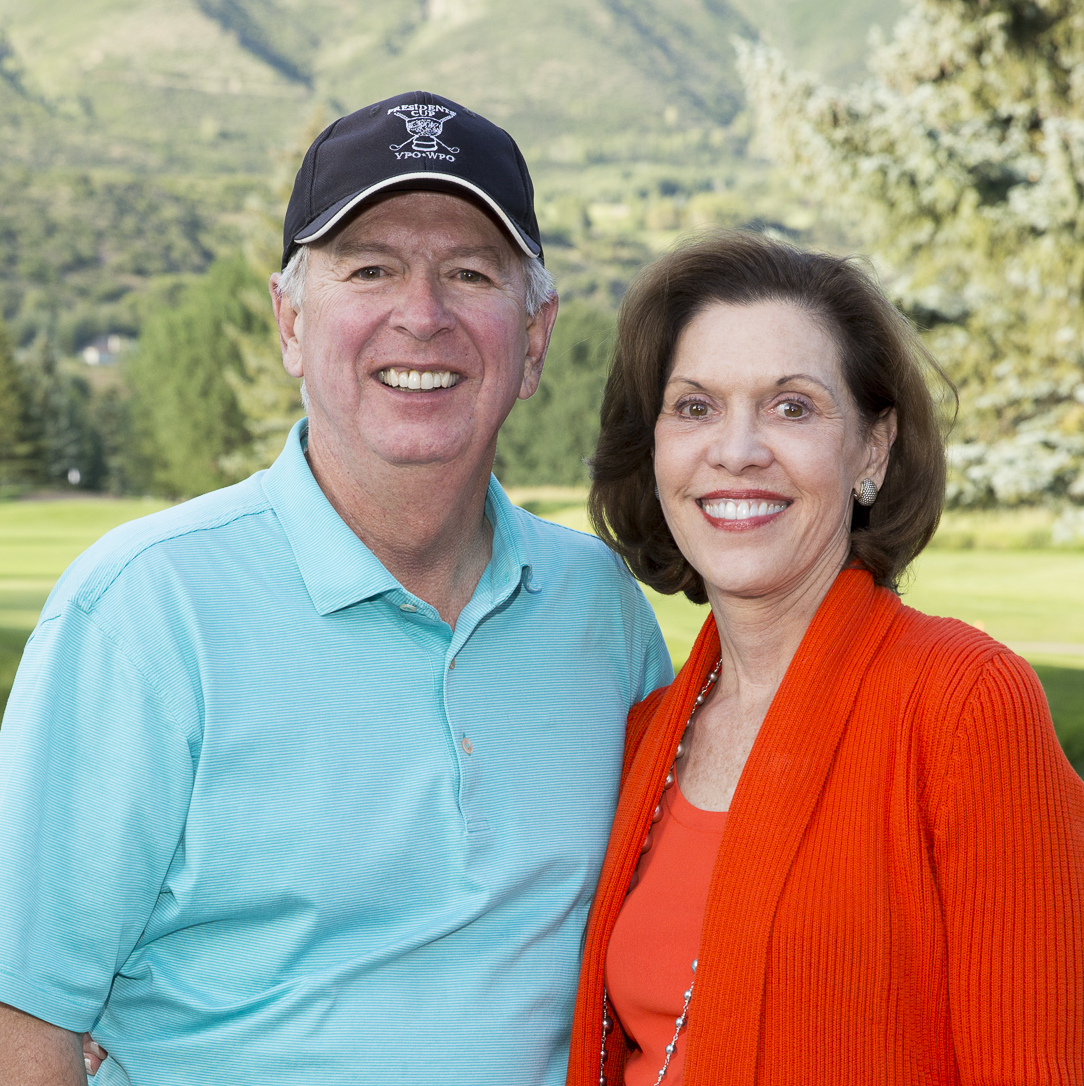 Houston Methodist in Aspen, July 2015, Rod and Cam Canion