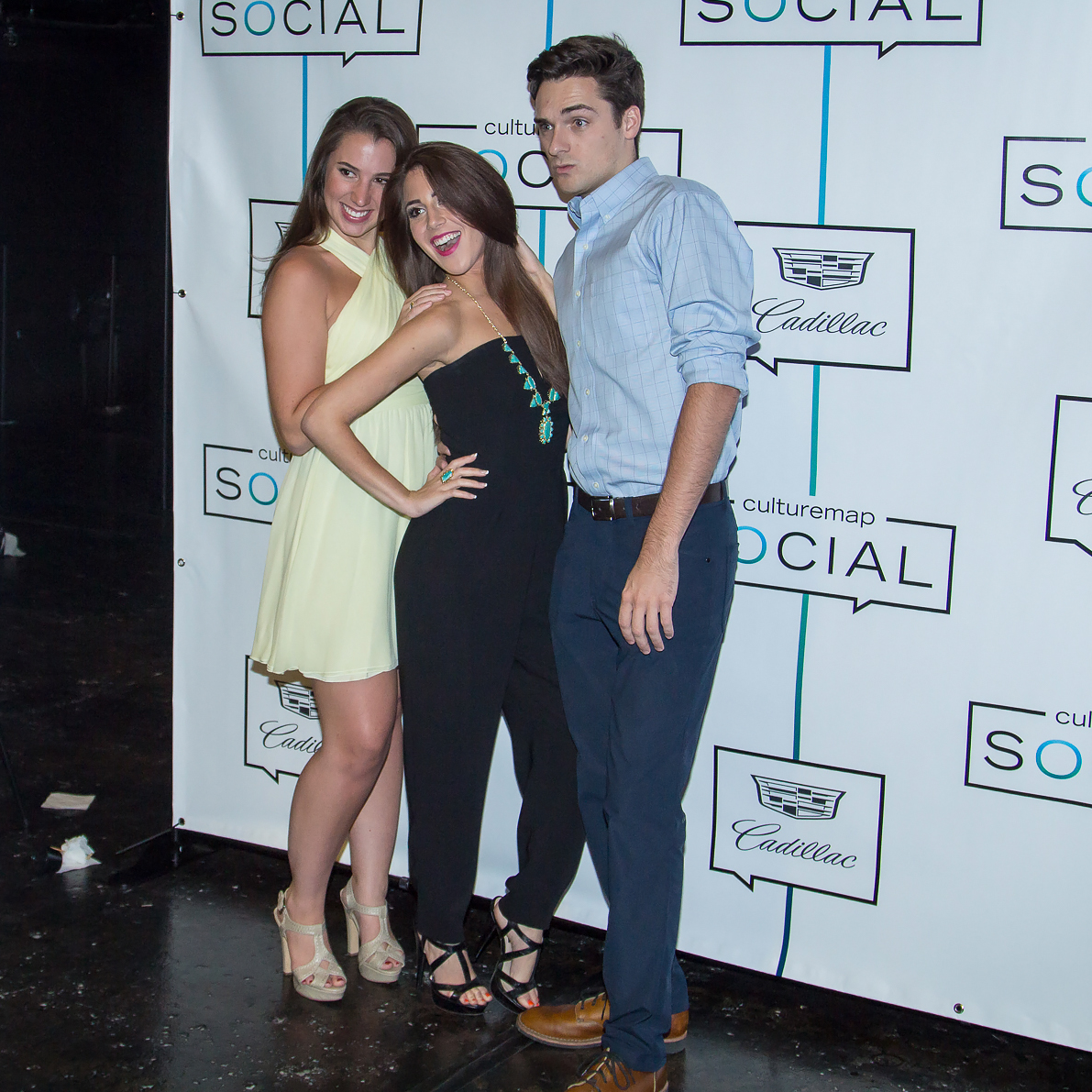 Photo booth at CultureMap Dallas Music Social 2015