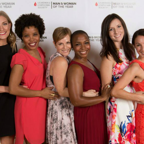 Leukemia & Lymphoma Society's Man & Woman of the Year Gala_Team Krystal_2015