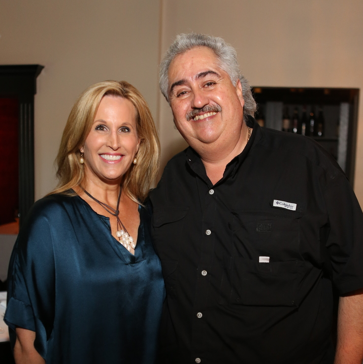 March of Dimes Cookoff 2015 Vanessa Sendukas and Pico's Chef Arnaldo Richards