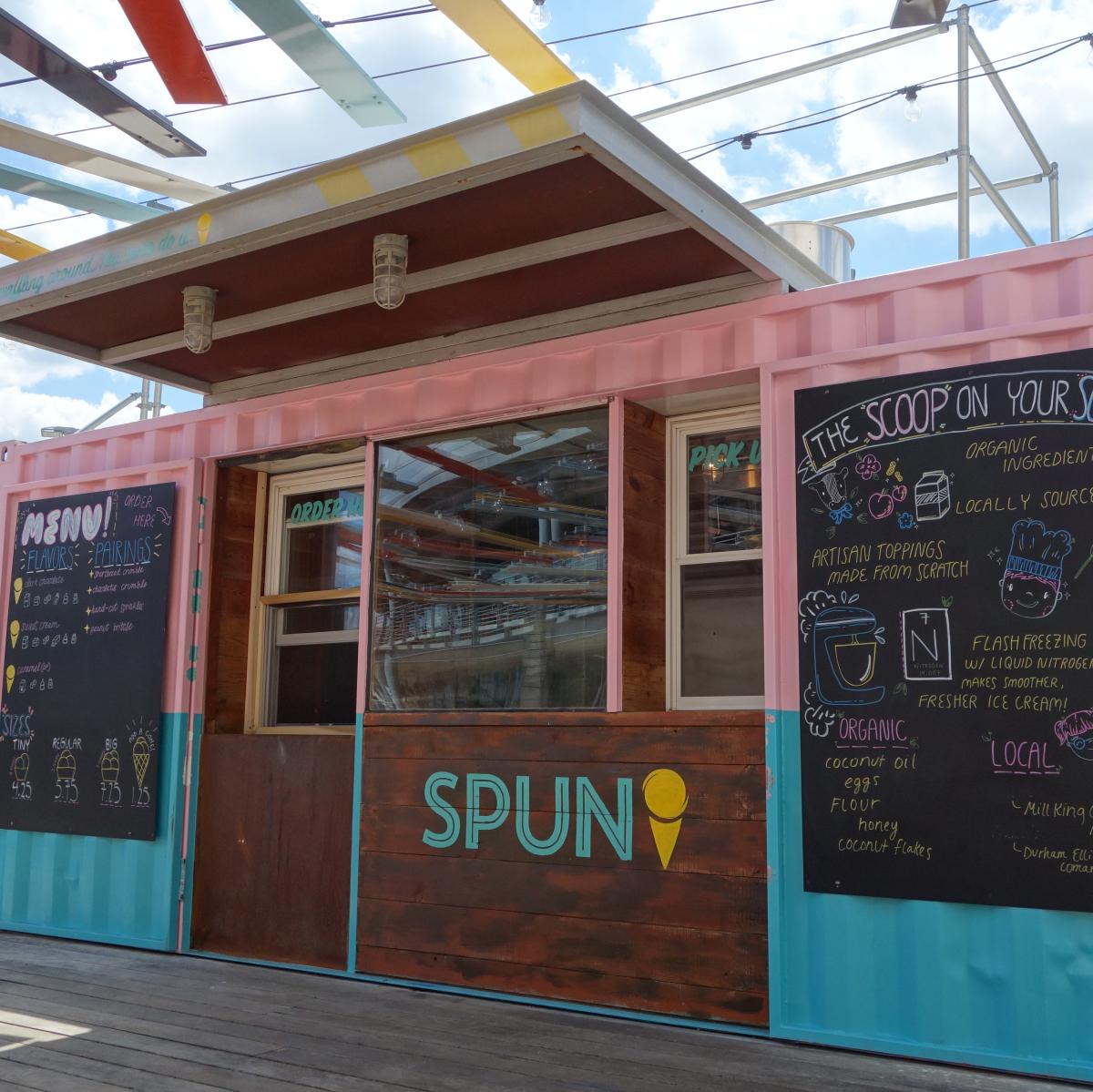 Spun Ice Cream Domain