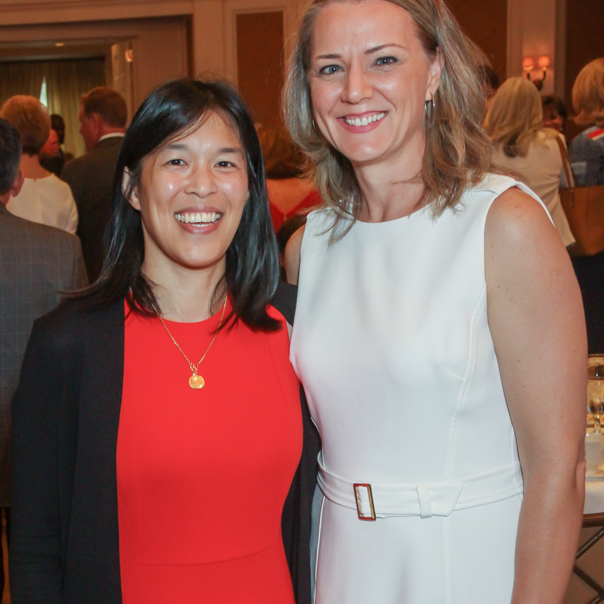 Anne Sung and Sue Deigaard/Mayor's Breakfast