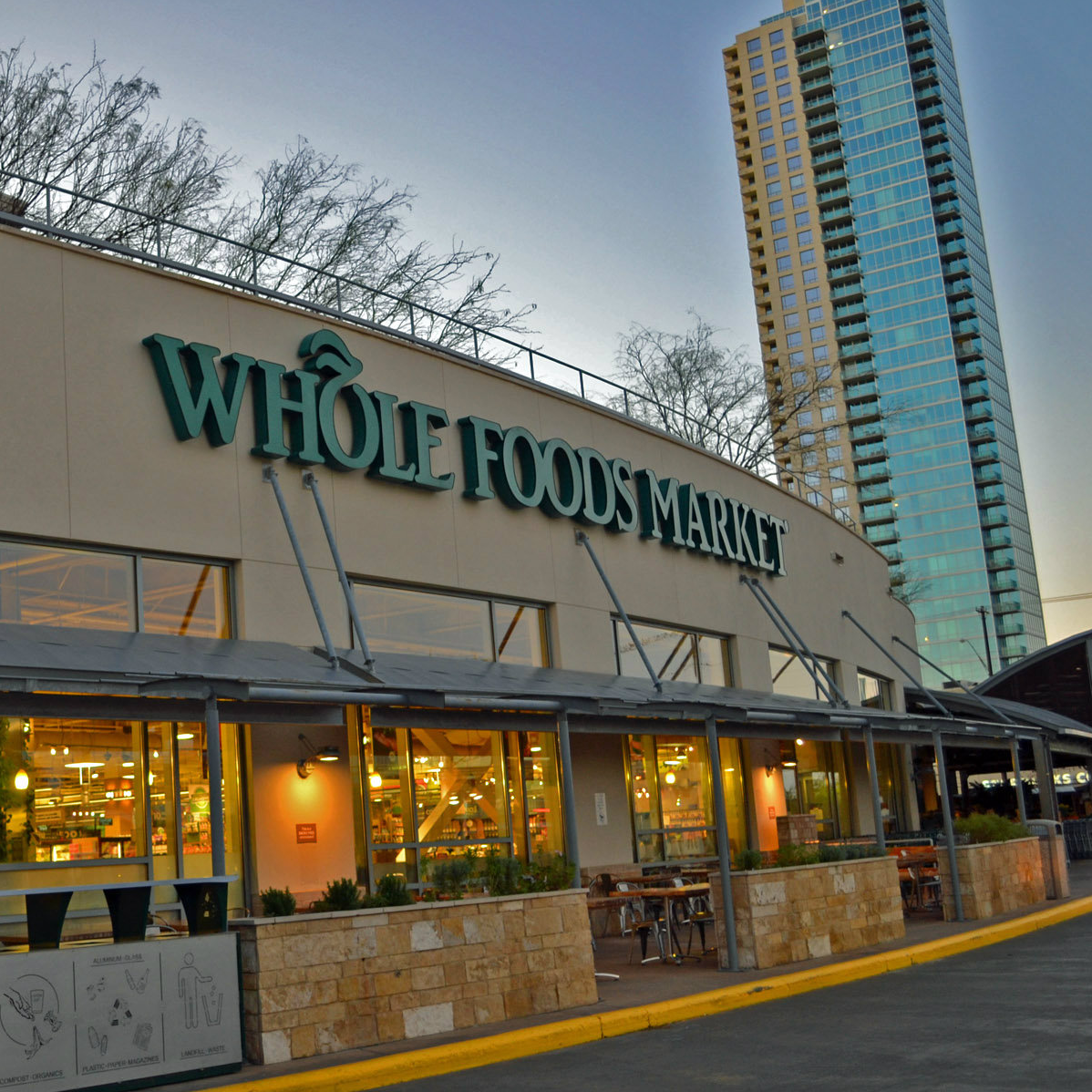 Whole Foods Market flagship store in Austin