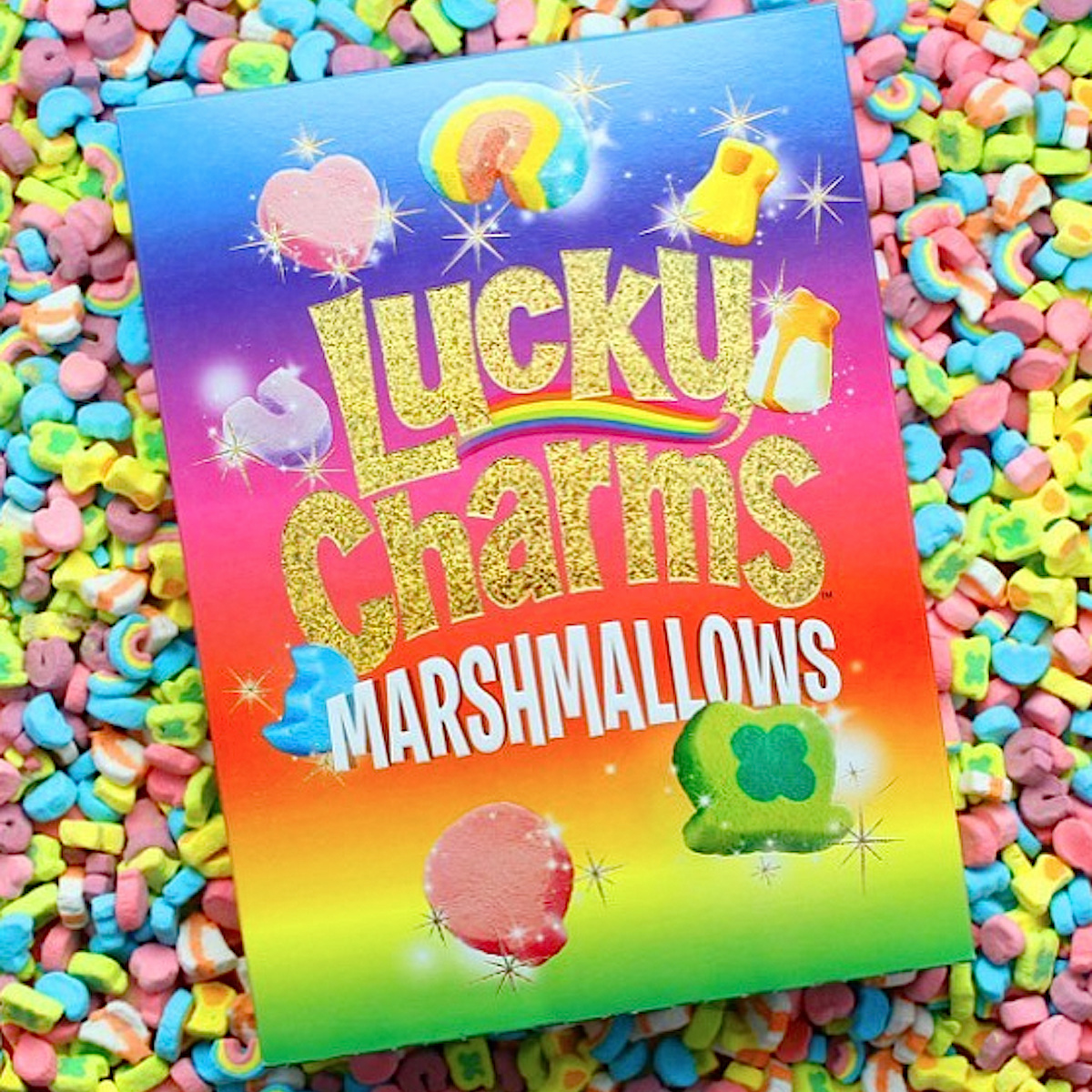 Houston, Lucky Charms cereal, June 2017