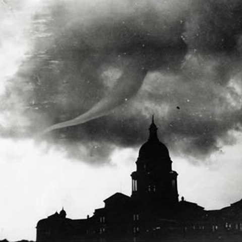 Texas State Capitol Austin tornado May 4 1922
