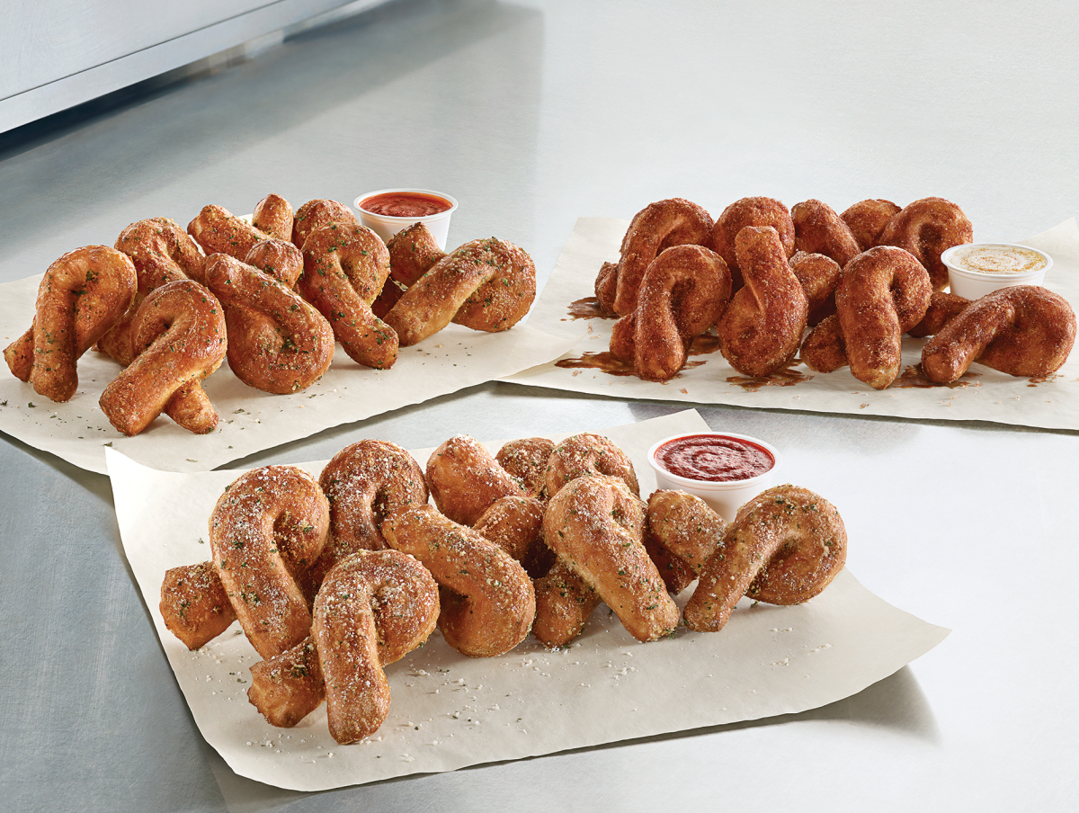 Houston, Dominos Pizza Bread Twists, June 2017, bread twists