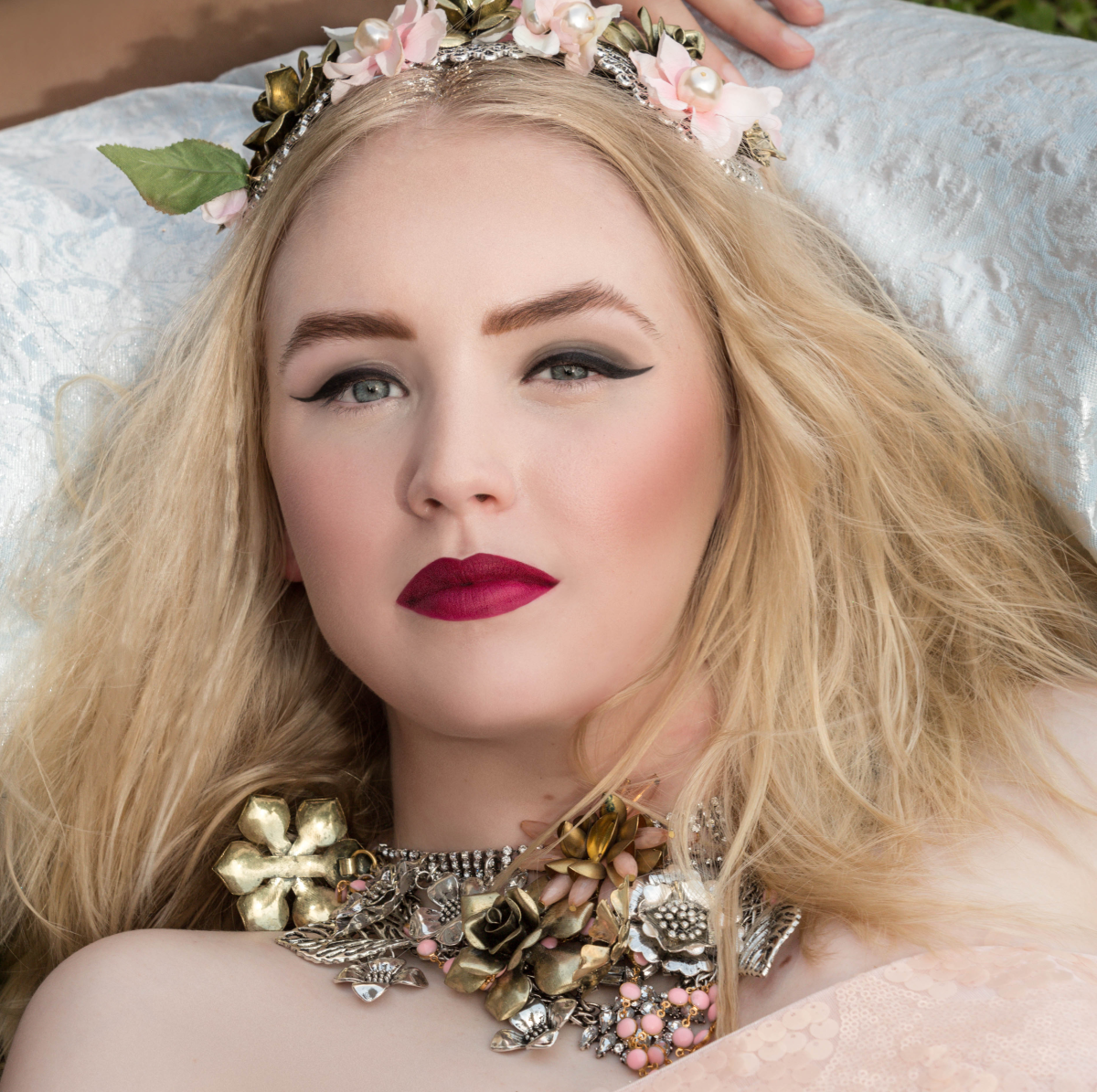 From Jessie Dugan's Spring Shoot. This was also part of a collaboration featuring other Houston fashion designers, including wardrobe by Miles David