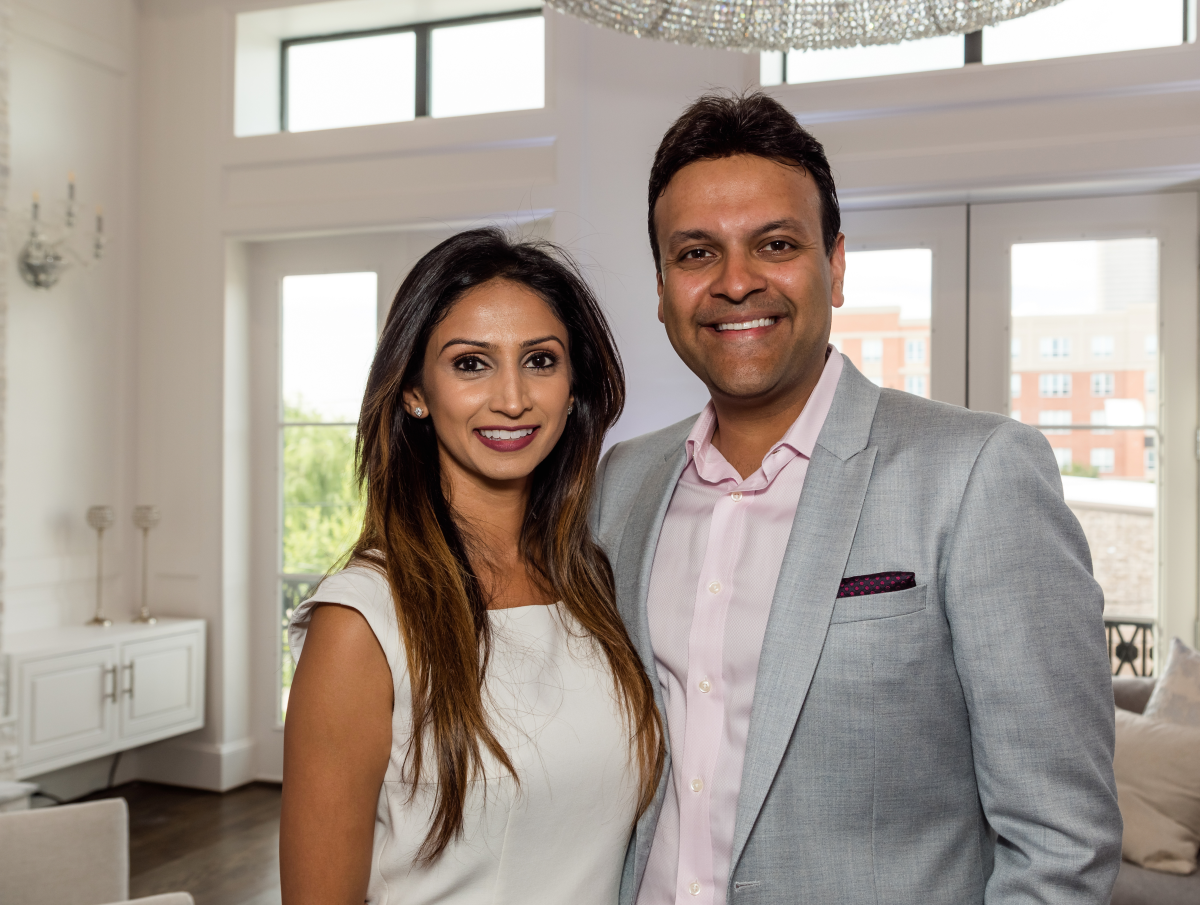 Houston, Carnegie Homes event, July 2017, Sapna Patel Gupta, Arpan Gupta