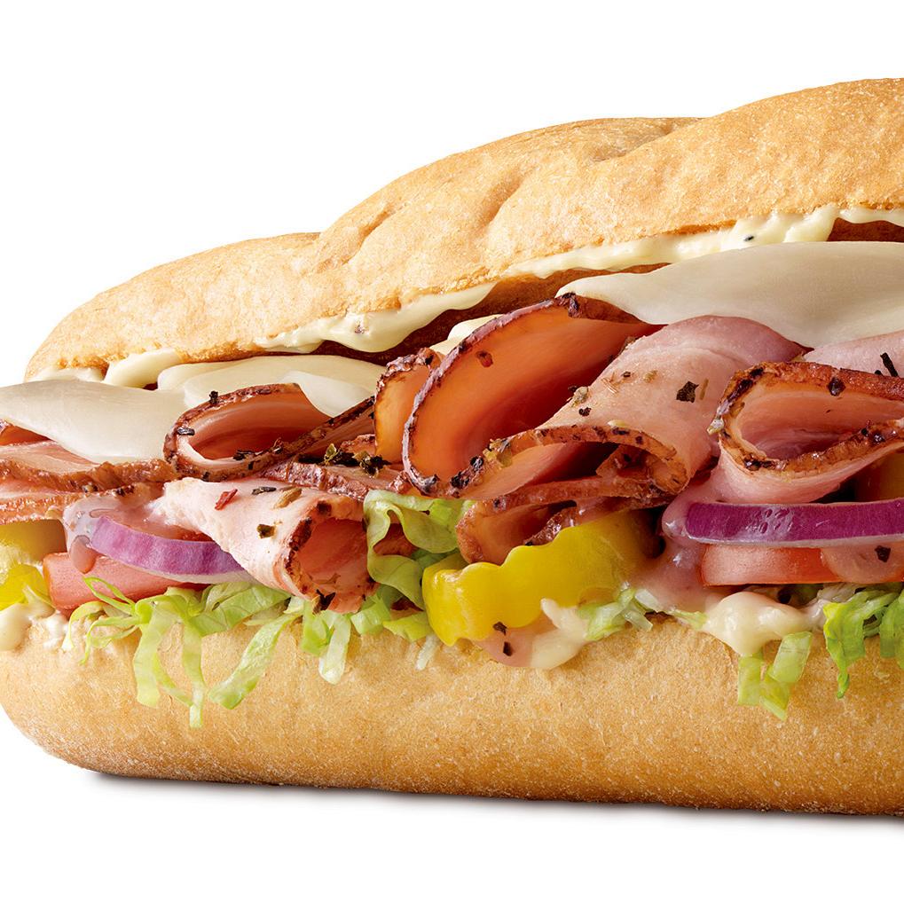 Houston, Arby's fast food, August 2017, Smoked Italian Porchetta Sandwich