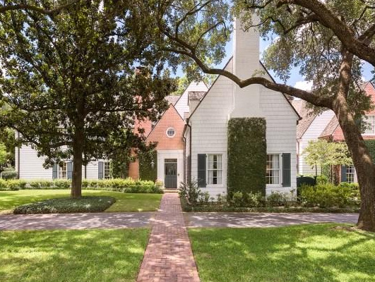 Houston, real estate, August 2017, George R. Brown's River Oaks Mansion, 3363 Inwood Dr, exterior