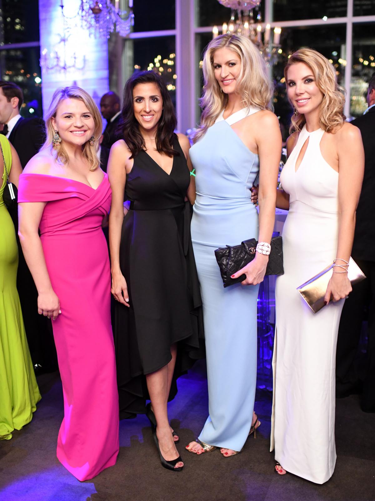 Houston, Jungle Book Gala, Sept. 2017, Brittany Guarglia, Nillie Dj, Shannon Smith, Ashley Metcalf
