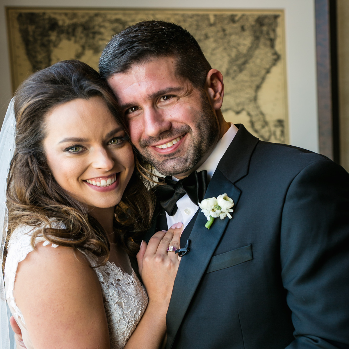 Monica Kitt Wedding, couple portrait