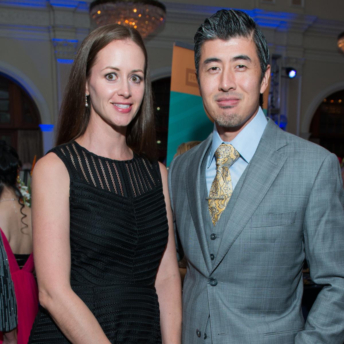 Kimberly and Dimitri Ang at AVDA Gala