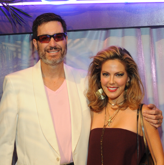 Vuk and Ofelia Vujasinovic at Miami Vice Children's Museum Gala