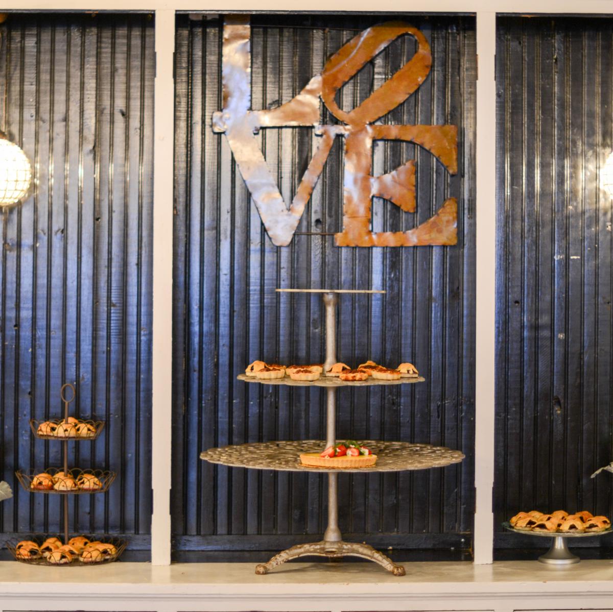 Beville Wedding, dessert