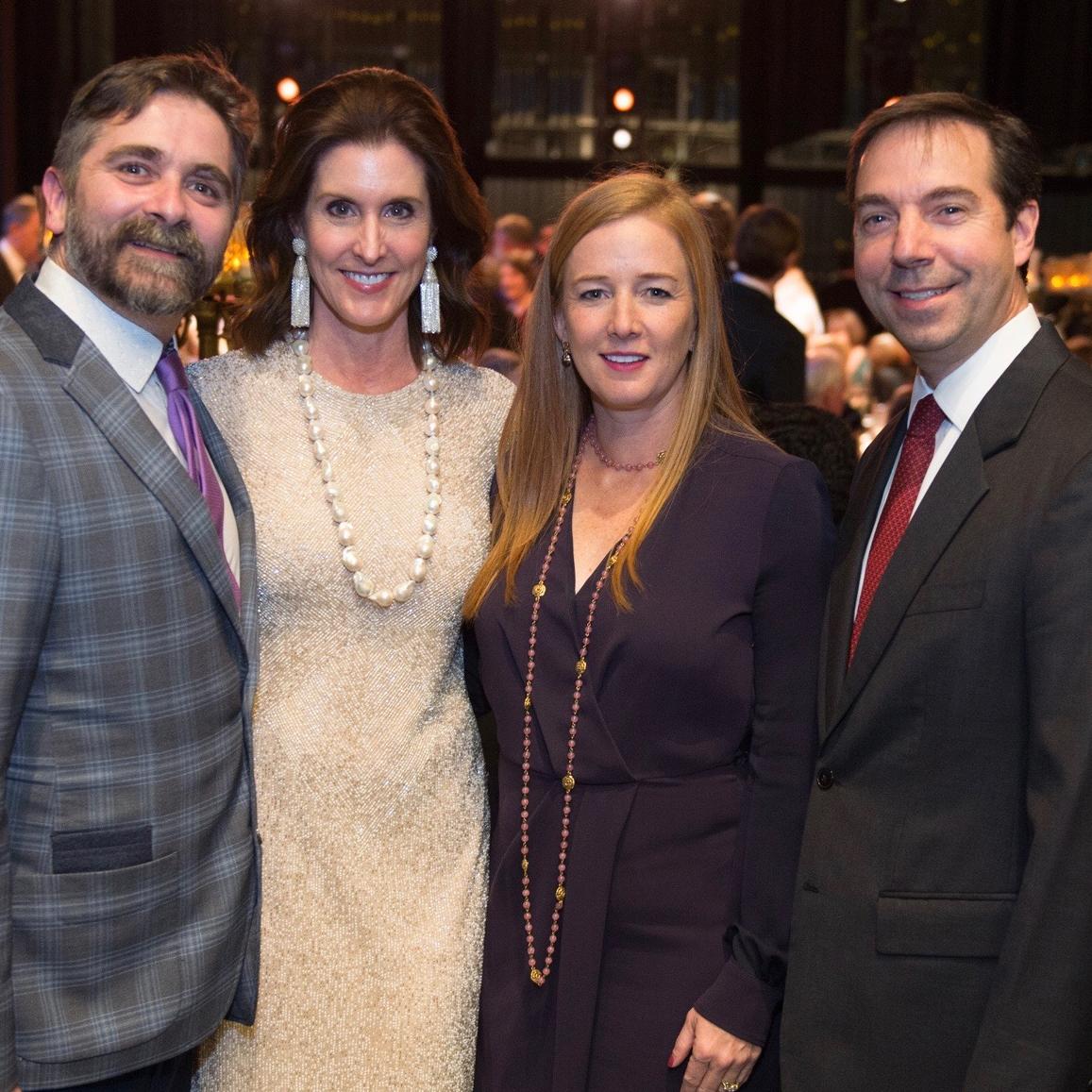 Houston Ballet Opening Night Dinner, Stanton Welch, Phoebe Tudor, Allison Thacker, Jim Nelson