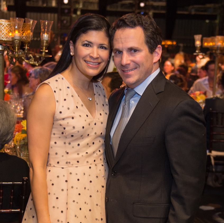 Kristy and Chris Bradshaw at Houston Ballet Opening NIght Dinner