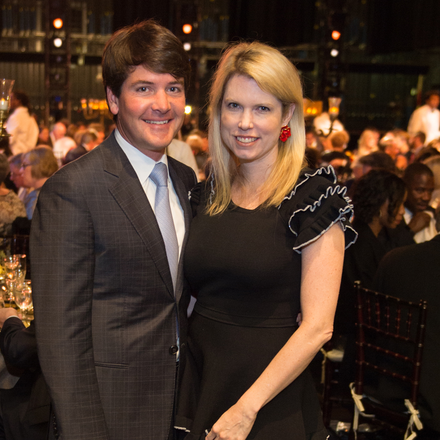 Bill and Courtney Toomey, Houston Ballet Opening Night Dinner