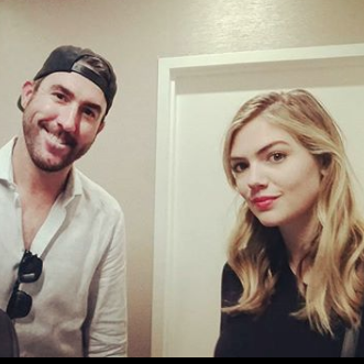 Justin Verlander and Kate Upton shopping at Saks Fifth Avenue